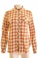 WOOLRICH Womens Shirt Size 14 Medium Multi Check Cotton Regular  EY01