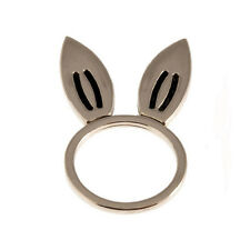 NEW TIMI Jewelry Silver Rabbit Ear Ring SIZE 7 -65% OFF
