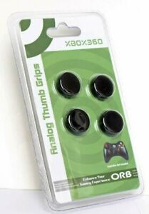 XBOX 360 Controller Thumb Grips 4 x ORB Analogue Stick Cover Cap - New