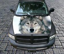 H95 WOLF Hood Wrap Wraps Fiber Decal Sticker Tint Vinyl Image Graphic Carbon