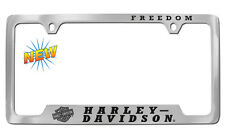 Harley-Davidson Freedom Bar and Shield Chrome License Plate Frame Holder