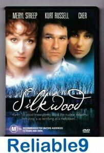 Cher+Meryl Streep- Silk wood DVD New not sealed Region4-1983/2004 mra Australia