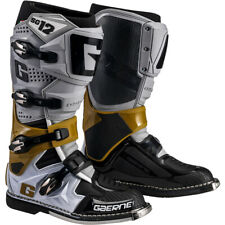 Gaerne SG-12 Offroad MX Motocross Boots Grey/Magnesium/White 10 US / 44.5 EU
