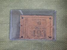 1913 PA Resident Hunting License - 1st Year Pennsylvania