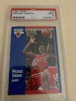 1991 Fleer Michael Jordan PSA 9
