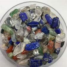 Natural Mixed Stone Crystal Gravel Crush Gems Rock Chips Specimens Healing 50g
