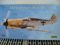 INTECH Bausatz im Maß 1:72: Messerschmitt Bf-109 F-4