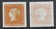 Mauritius 3211 - 1847 POST OFFICE 1d  - a Maryland FORGERY unused