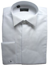 100% Cotton Fly Front Marcella Wing Collar Shirt 17.5