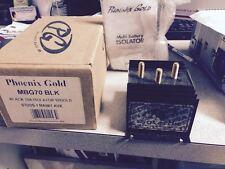 Phoenix Gold Battery Isolator w/gold studs 70A 1 Main 1 Aux, MBG70 BLK