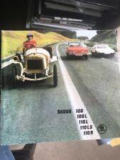Car Brochure - 1975 Skoda 100, 110 & 110R  - UK