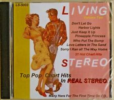 IN LIVING STEREO - CD - Vol. 2 - Top Pop Chart Hits - BRAND NEW