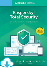 KASPERSKY TOTAL SECURITY 2019 2020 3 PC DEVICES 1 YEAR PROTECTION / GLOBAL KEY
