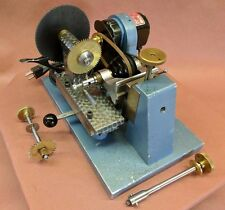 Rare Vtg. Watchmakers Milling Lathe Machine  - Gear & Wheel Cutter -