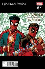 Spider-Man / Deadpool #1 - Hip Hop Variant Marvel Comics
