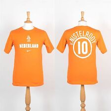 NIKE MENS NETHERLANDS HOLLAND FOOTBALL SOCCER T-SHIRT SHIRT JERSEY TRAINING XS