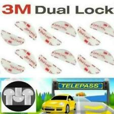 4x Adesivo per fissaggio Telepass in velcro, Adesivo 3M dual lock a forte tenuta