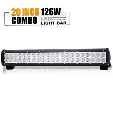 "For JEEP Odyssey CRV Civic 20"" LED Light Bar Combo On Reverse Front Rear Bumper"