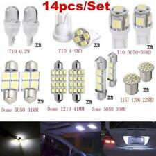 14x Car Interior Package Map Dome License Plate Mixed LED Light Accessories US