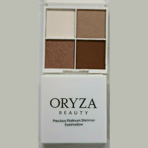 2 x ORYZA Precious Platinum Shimmer Eyeshadow 8g each