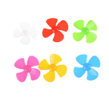 6pcs High quality ABS Plastic Propeller 4 blade model accessories 2mm X 56mm EP