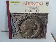 ALBINONI Le célèbre adagio GARATTI VAN TRIGHT MICHELUCCI 6515008