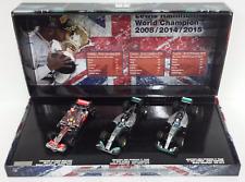 MINICHAMPS 1/43 LEWIS HAMILTON SET 3 AUTO MERCEDES F1 W.CHAMPION 2008-2014-2015