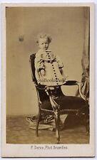 F. Deron Photo Bruxelles Belgique België Belgium cdv Vintage albumine ca 1860