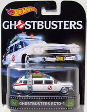 HOT WHEELS 2015 RETRO ENTERTAINMENT GHOSTBUSTERS ECTO-1A
