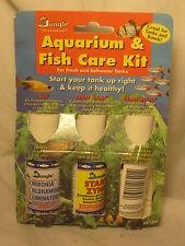 Jungle Aquarium & Fish Care Kit Fresh Saltwater AK100 tank bowl Ace Start Zyme