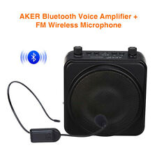 Wireless Bluetooth PA Voice Amplifier Megaphone Booster with Microphone Portable