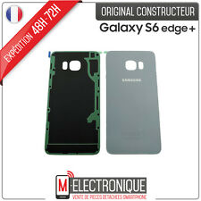 Vitre arrière Silver Original Samsung Galaxy S6 Edge + G928
