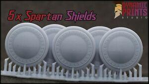 5x Custom Spartan Storm Shields Marineaccessories bits