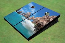 Mexican Beach Custom Cornhole Board