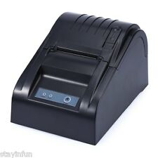 Receipt Printer High Speed USB 5890T ESC / POS 58mm Line Thermal Blcak EU PLUG