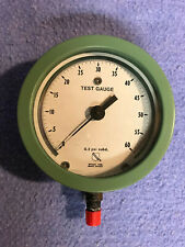 "ASHCROFT TEST GAUGE 0-60 PSI  FACE  5"" THICKNESS 2 1/8"""