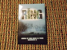 THE RING MOVIE PIN DATED 2002 NAOMI WATTS