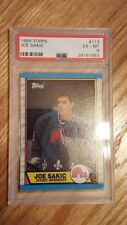 1989 Topps Joe Sakic #113 PSA 6 ROOKIE HALL of FAMER!!!! Quebec Nordiques!