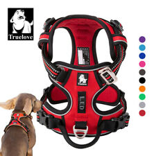 Genuine Truelove Dog Harness Upgraded No-Pull Strong Adjustable 10 Colour 5 Size