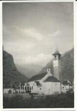 Fotografia originale, Bignasco (Cevio), Canton Ticino 1950