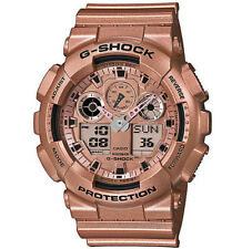Casio G-Shock Rose Gold Classic Series GA100GD-9A Men's Watch GA-100GD-9 New