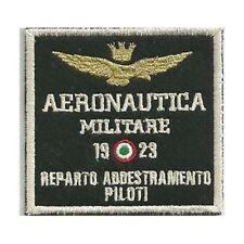 [Patch] AERONAUTICA MILITARE REPARTO ADDESTRAMENTO PILOTI cm 8 x 7,5 ricamo -308