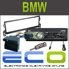 BMW Mini 09/2000> Full Fascia Fitting Kit with JVC CD MP3 USB AUX Car Stereo