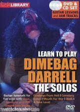 Fare clic su Libreria imparare a giocare la Solos DIMEBAG DARRELL Passeggiata ROCK METAL CHITARRA DVD