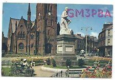 SCOTLAND - DUMFRIES, 1962 QSL Radio Transmission Confirmation Postcard GM3PBA