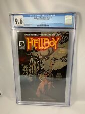 HELLBOY: THE WILD HUNT - DH 100 Special Edition NITF CGC 9.6 White Pages Mignola