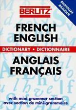 Berlitz French-English Dictionary (Berlitz Bilingual Dictionaries) by Berlitz P