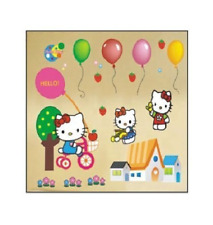 Hello Kitty Wall Stickers, Peel & Stick, Removable, High Quality PVC