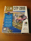 Simcity 2000 Cd Collection 1994 Maxis Pc Computer Video Game Complete In Big Box