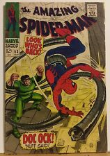 The Amazing Spider-man No.53 Dr. Octopus Appearance John Romita Cover 1967